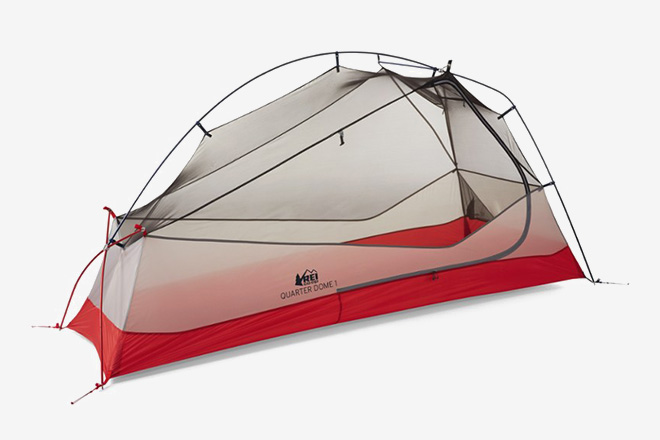 REI Co-op Quarter Dome 1 Tent & Hiker Housing: 10 Best Ultralight Backpacking Tents | HiConsumption