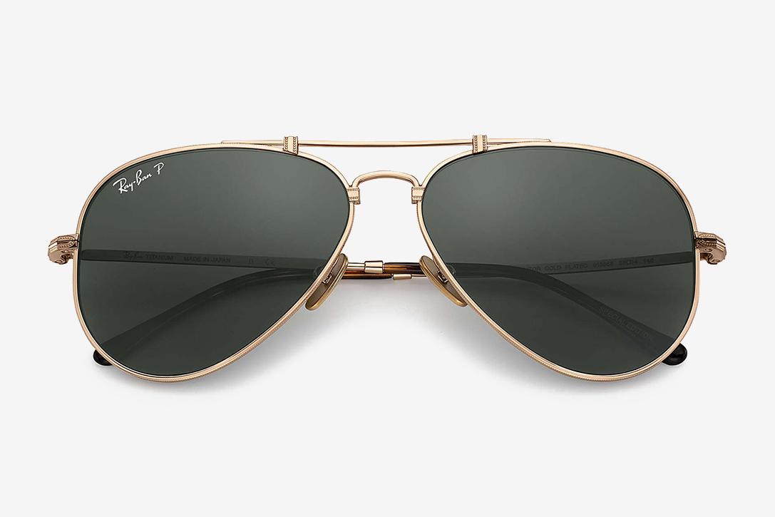 5abb5c3aa55 Ray-Ban Made In Japan Titanium Sunglasses