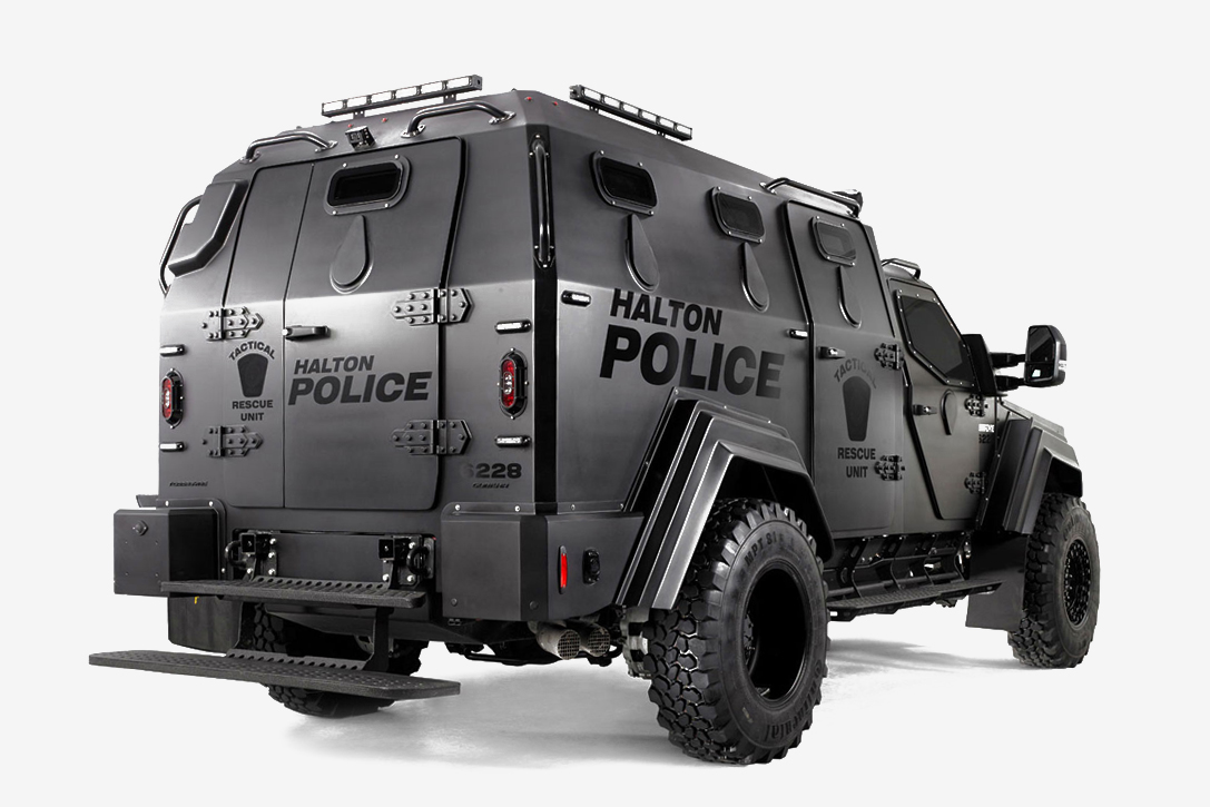Terradyne Gurkha Mpv Armored Vehicle Hiconsumption