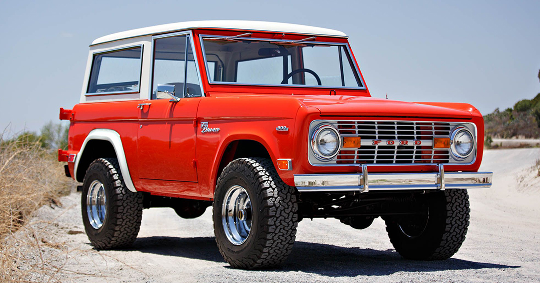 1969 Ford Holman & Moody Bronco 'Hunter'