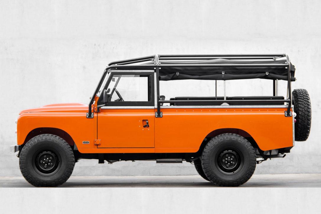 land rover series 3 39 tangerine dream 39 hiconsumption. Black Bedroom Furniture Sets. Home Design Ideas