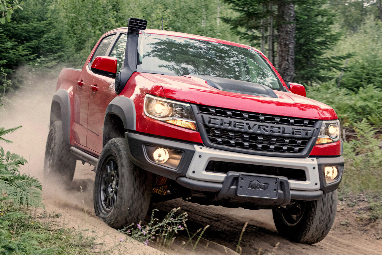 American Expedition Vehicles >> 2019 Chevrolet Colorado ZR2 Bison | HiConsumption