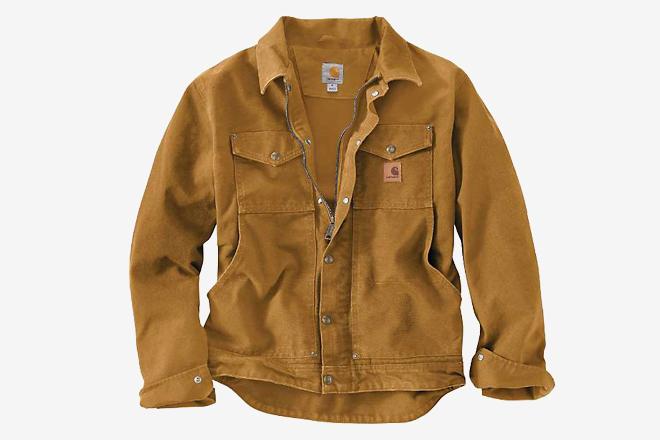 Levi's Men's Stretch Twill Jacket Khaki//Tan