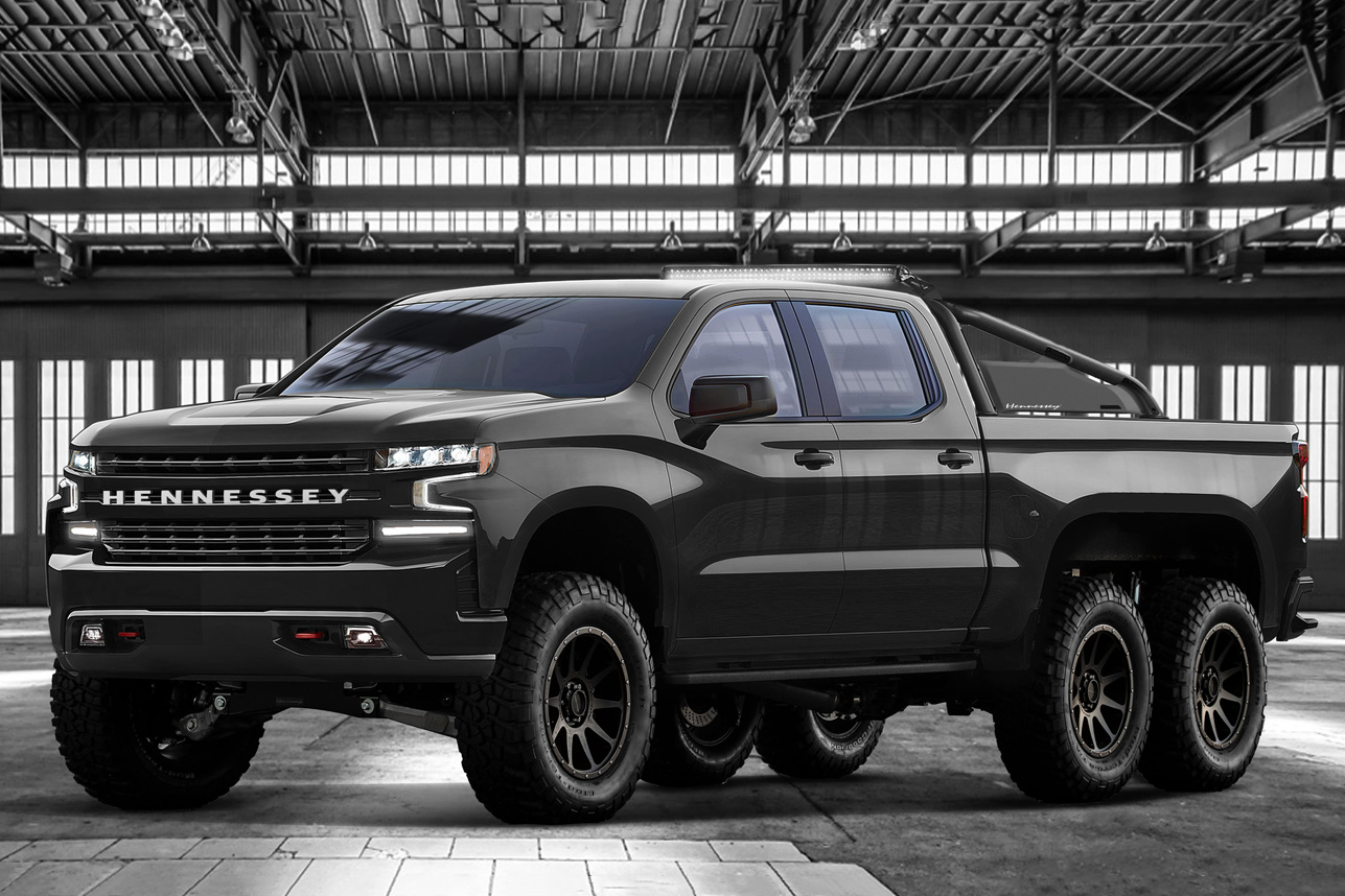 Hennessey Goliath 6x6 Pickup Truck | HiConsumption