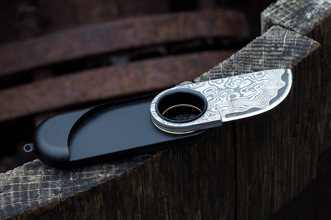 Hribarcain Omni Damascus Pocket Knife Hiconsumption