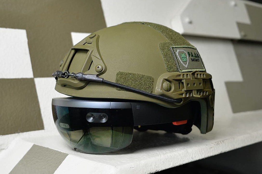LimpidArmor AR-Enabled Tank Headset