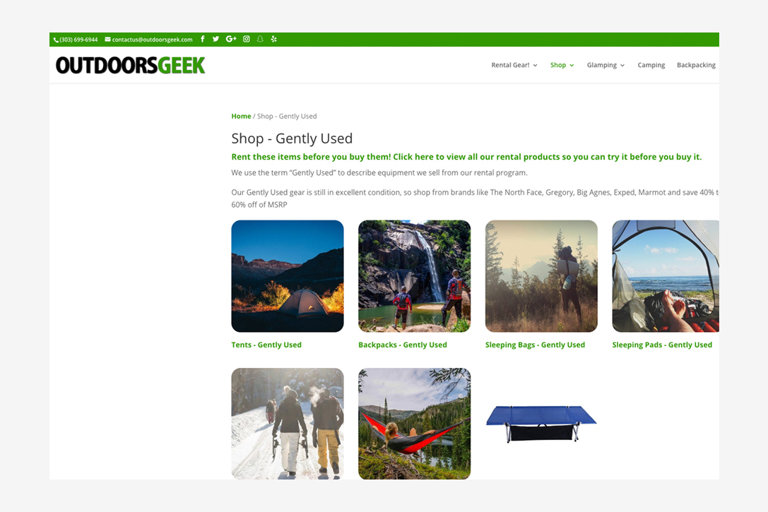 8 Best Online Shops For Used Outdoor Gear | HiConsumption