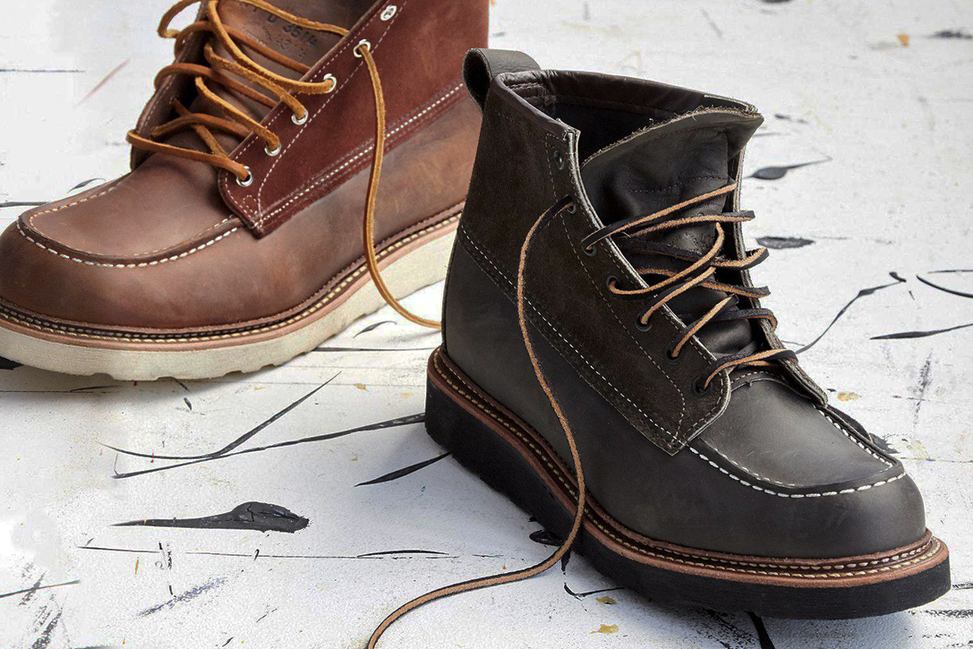 Red Wing X Todd Snyder Moc Toe Boots Hiconsumption