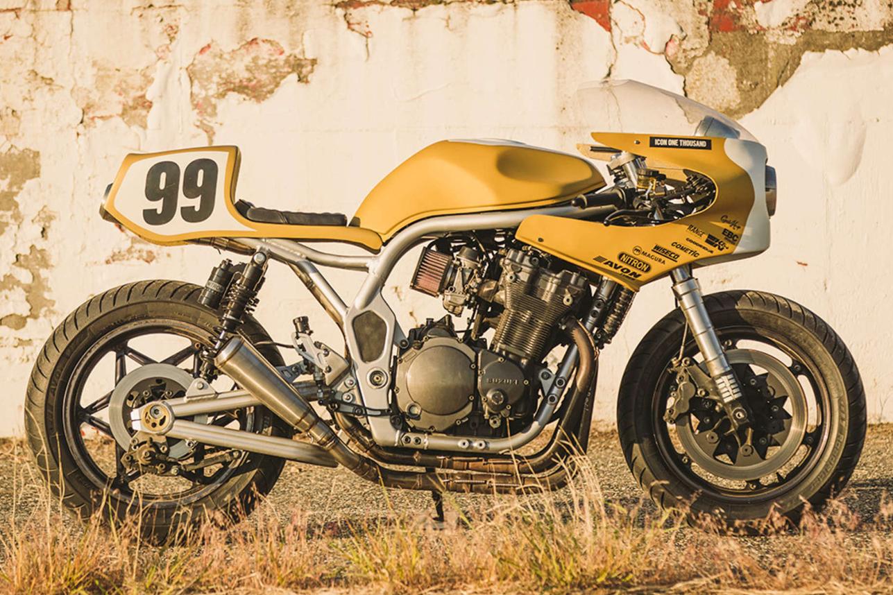 Bandit 750 Cafe sport - RocketGarage - Cafe Racer Magazine