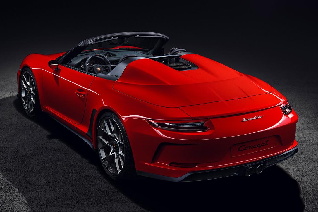 2019 Porsche 911 Speedster Hiconsumption