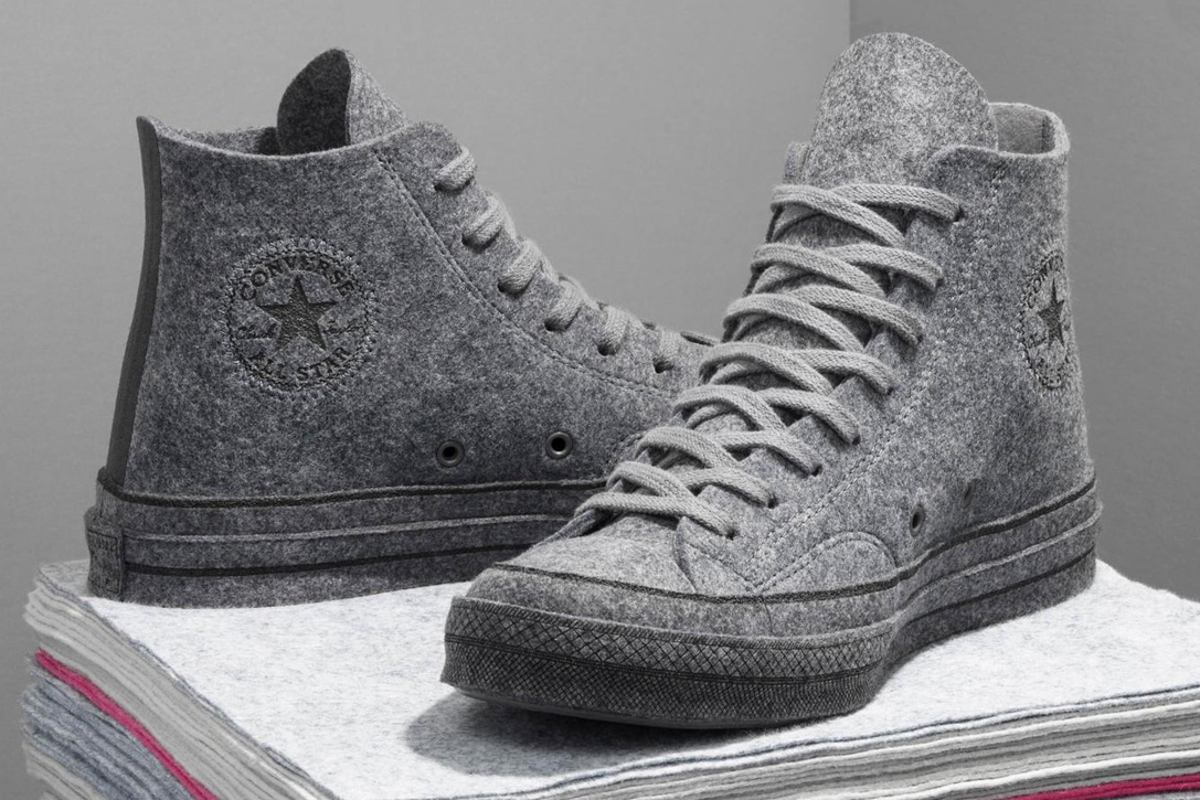 c6b8566597dc Converse X JW Anderson Chuck 70 Felt Collection