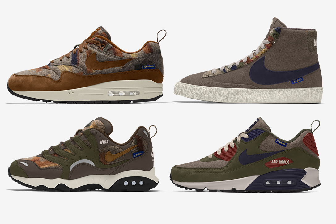 Pendleton X Nike iD Shoe Collection  f034f4585