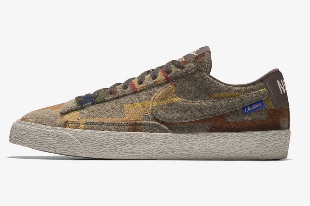 77a2eef11106b Pendleton X Nike iD Shoe Collection