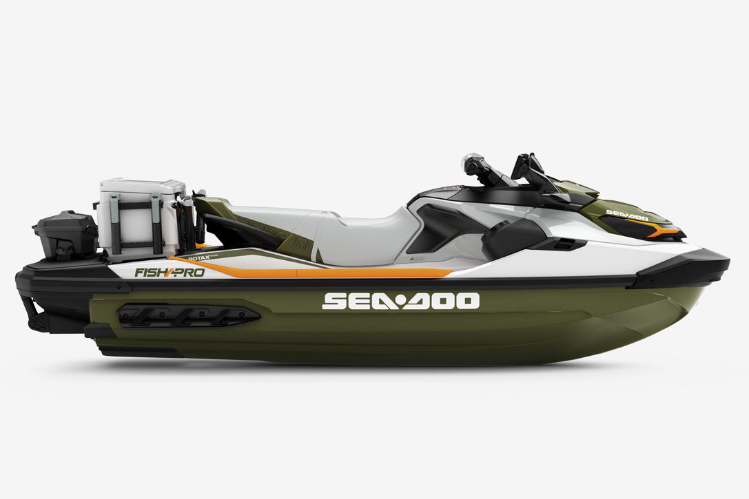 2019 Sea-Doo FISH PRO Personal Watercraft | HiConsumption