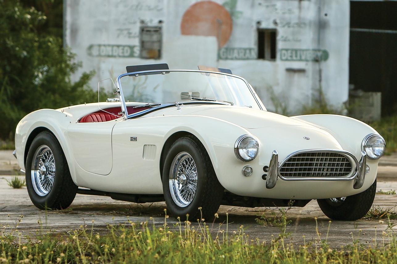 Auction Block: 1964 Shelby 289 Cobra