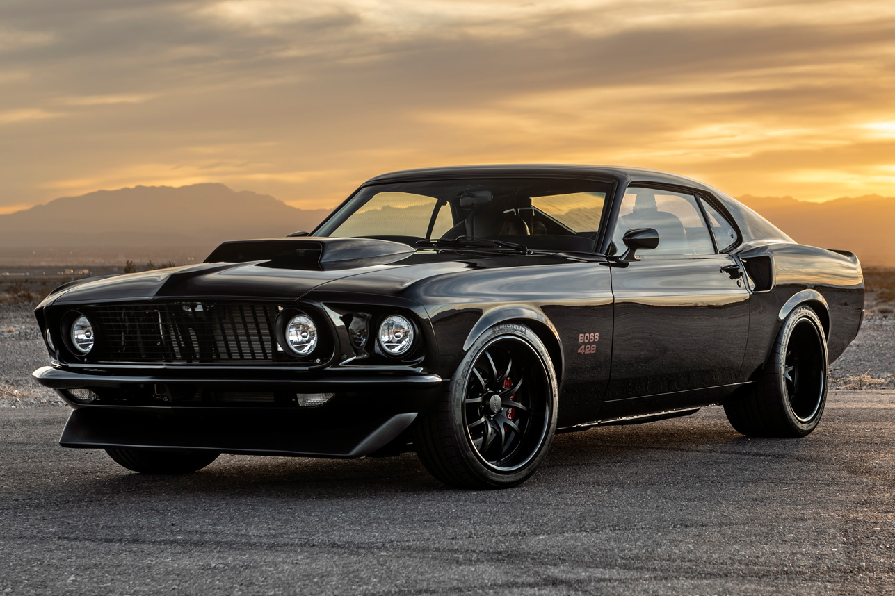 1969 Ford Boss 429 Mustang By Classic Recreations