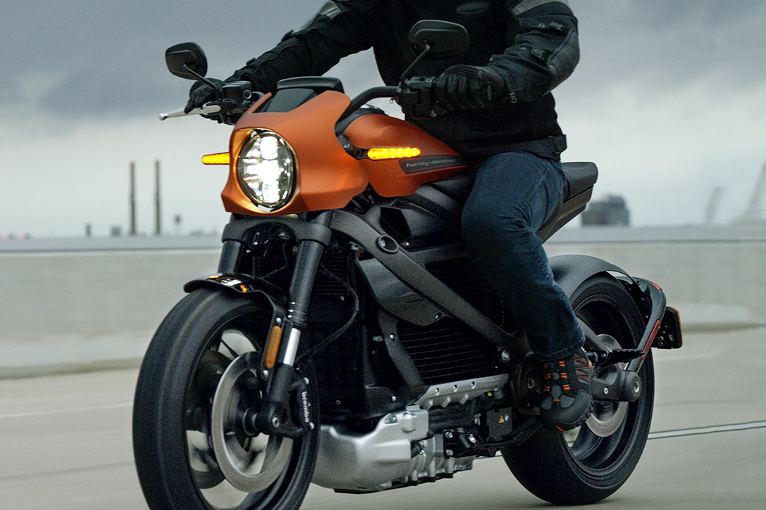2020 Harley-Davidson LiveWire Electric Motorcycle ...