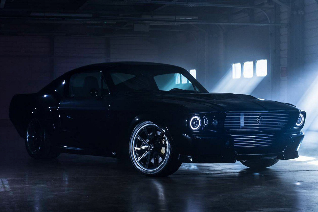1960s Ford Mustang All-Electric By Charge