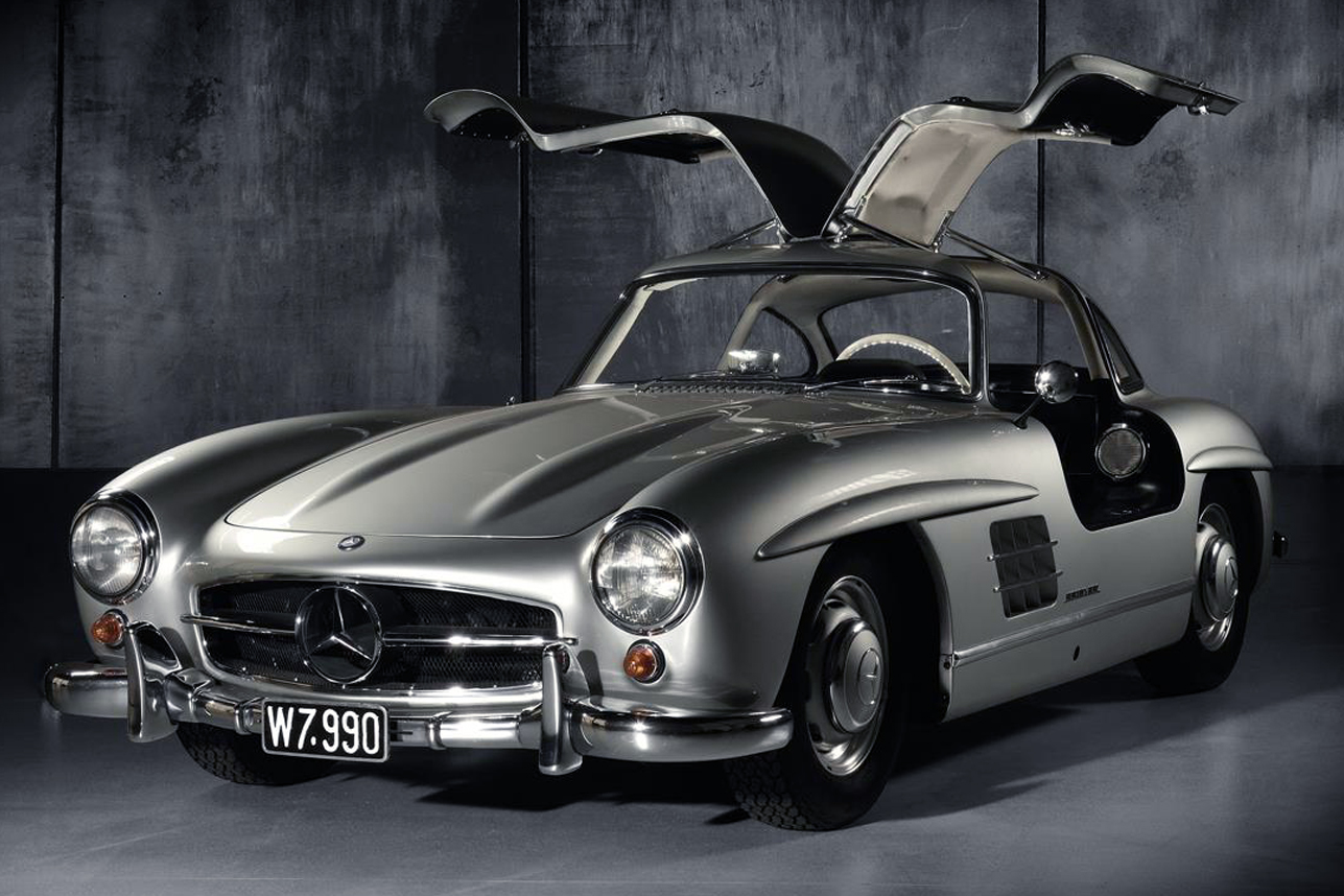 auction block 1955 mercedes benz 300 sl gullwing hiconsumption. Black Bedroom Furniture Sets. Home Design Ideas