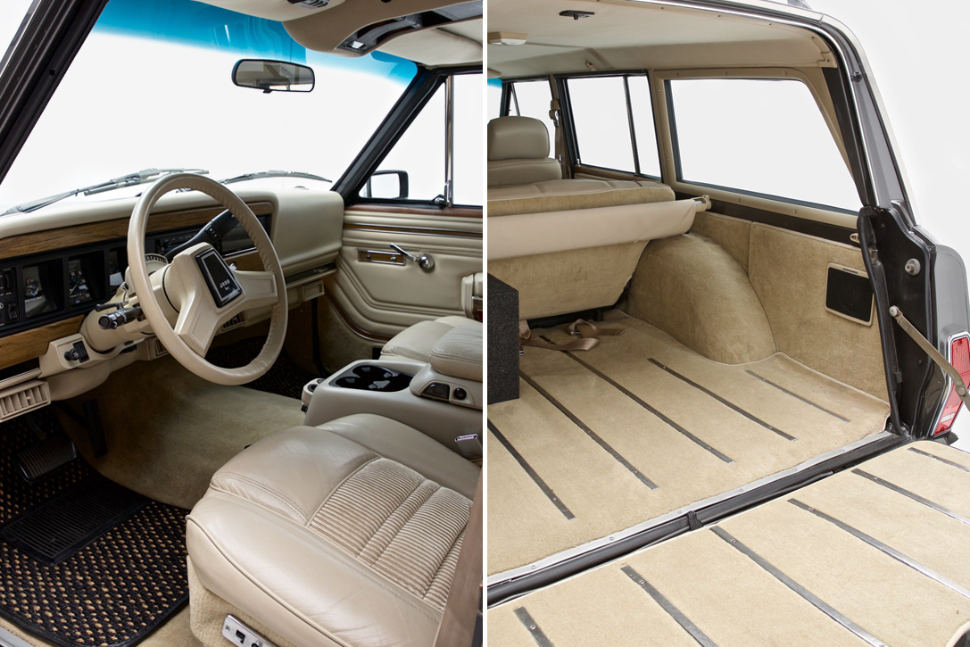 Auction Block 1989 Jeep Grand Wagoneer Hiconsumption