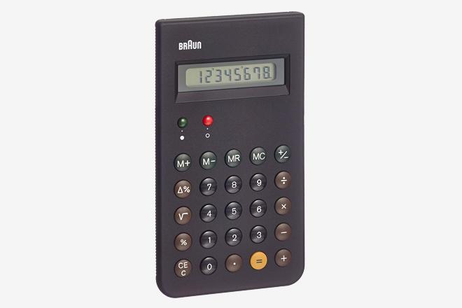 Braun et66 calculator | man of many.