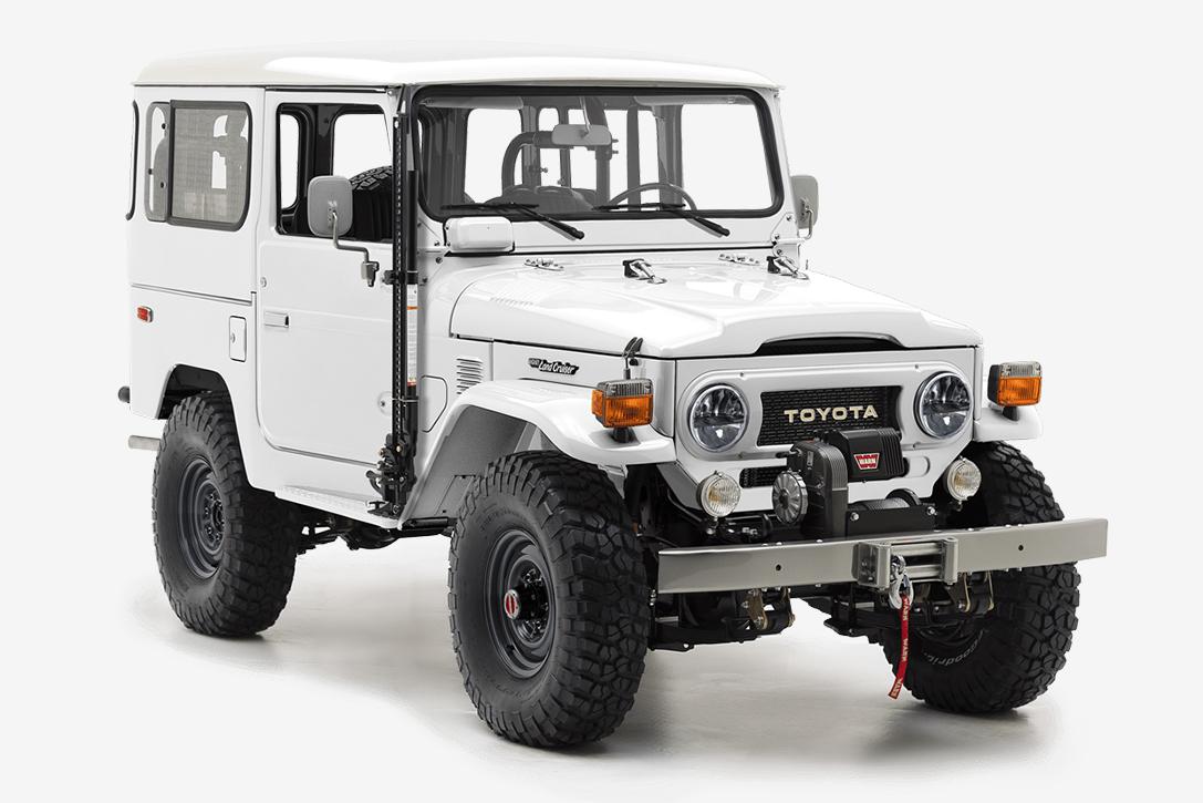 Custom Toyota Land Cruiser G40 By The Fj Company Hiconsumption