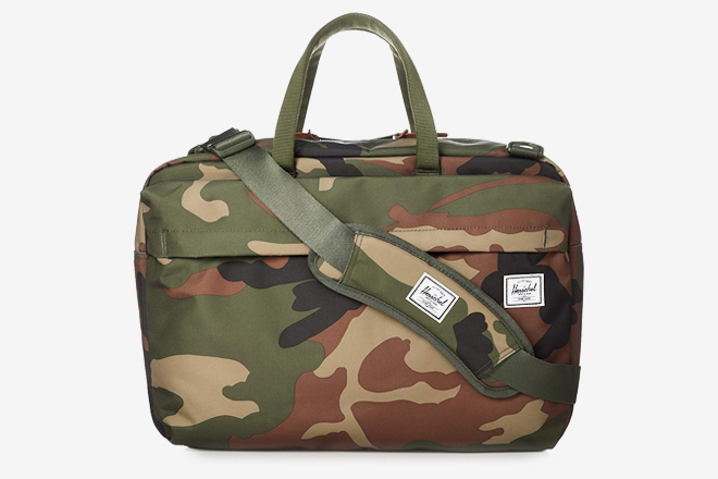 Ex-Army Small Light Weight Shoulder Bag or Satchel