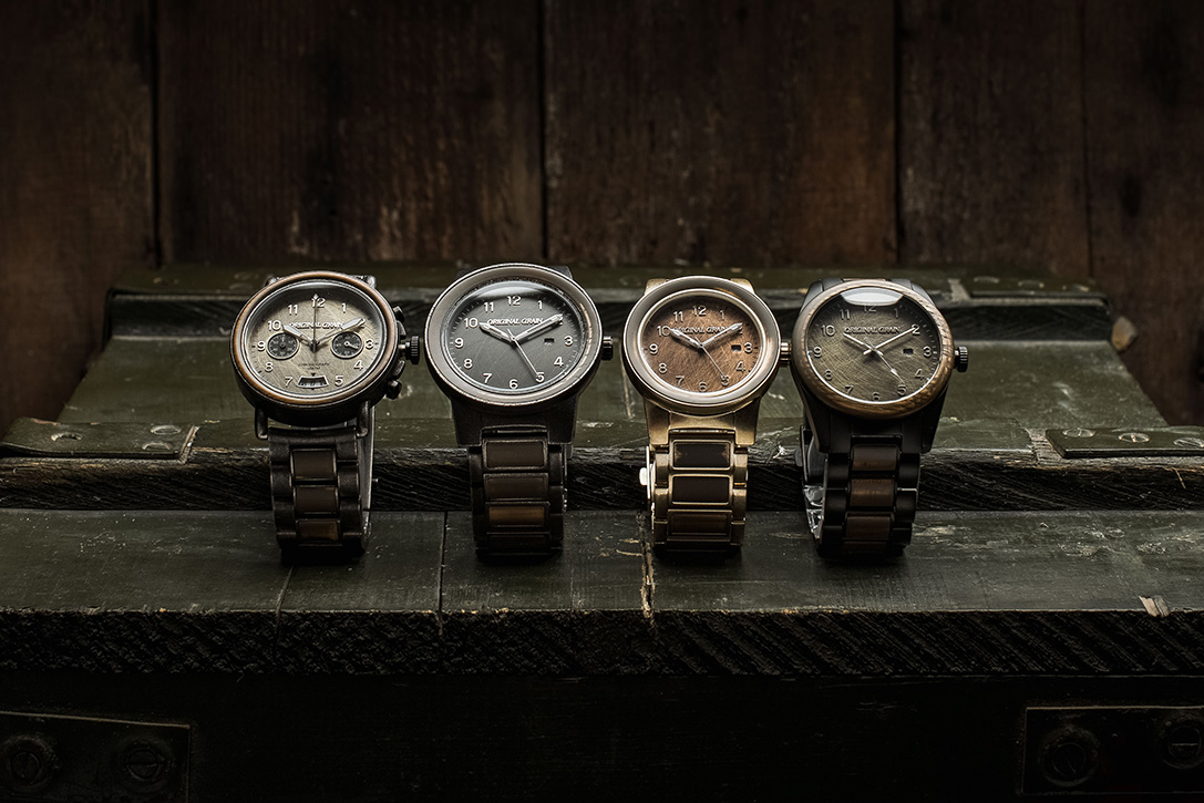Original Grain Military Collection Watches