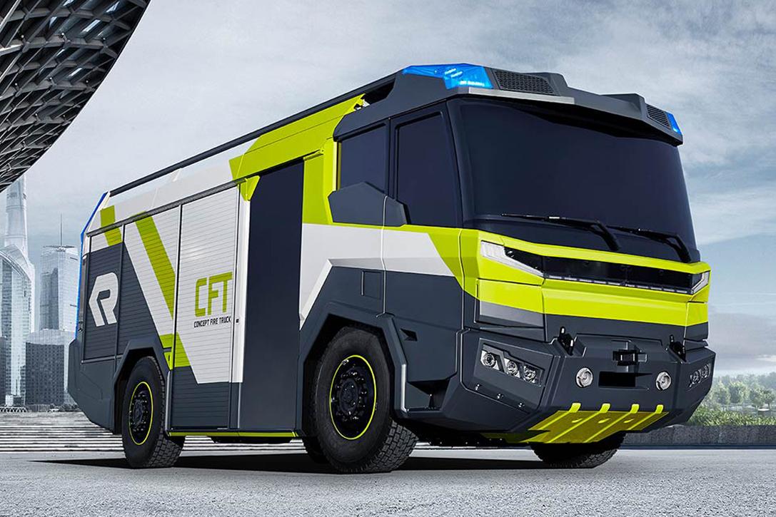 Pictures Of Future Trucks: Rosenbauer Fire Truck Concept