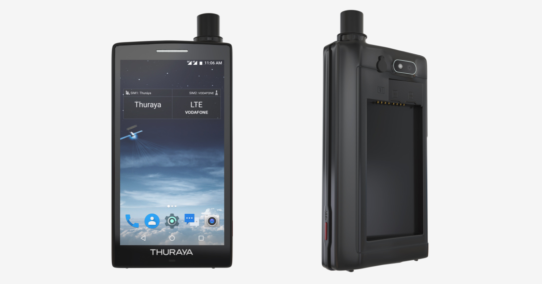 The Thuraya X5-Touch Is The 'Always On' Android 7.1 Satellite Smartphone