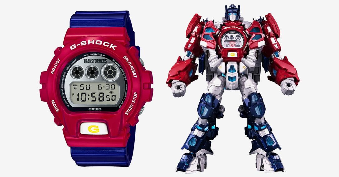 G-Shock X Transformers DW6900-IV Watch
