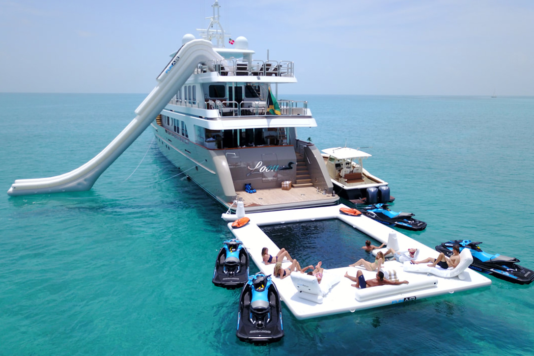 Loon Luxury Charter Yacht   HiConsumption