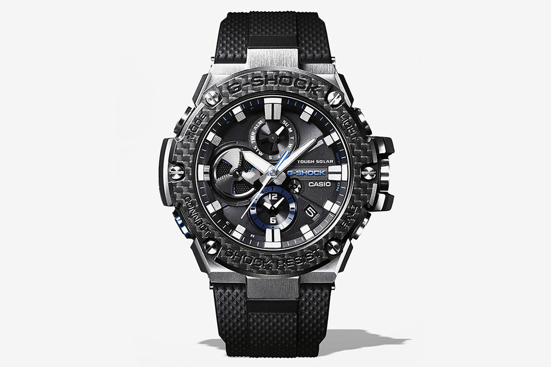 G Shock G Steel Carbon Watch Hiconsumption