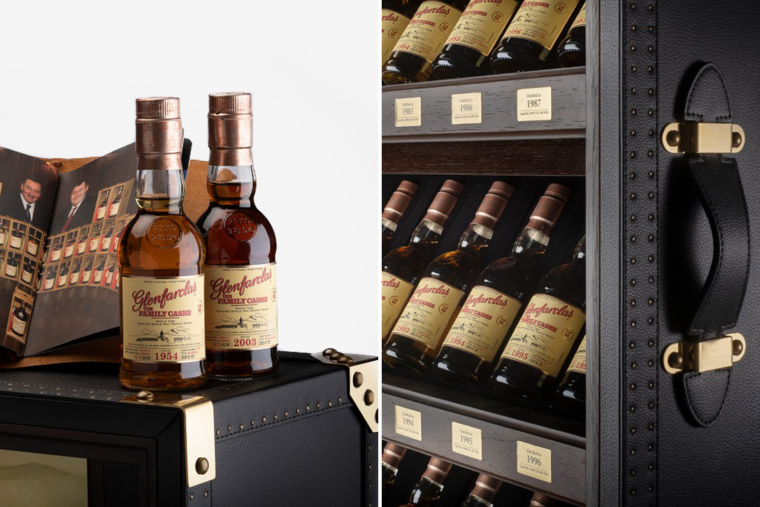 Glenfarclas Whisky Family Cask Trunk