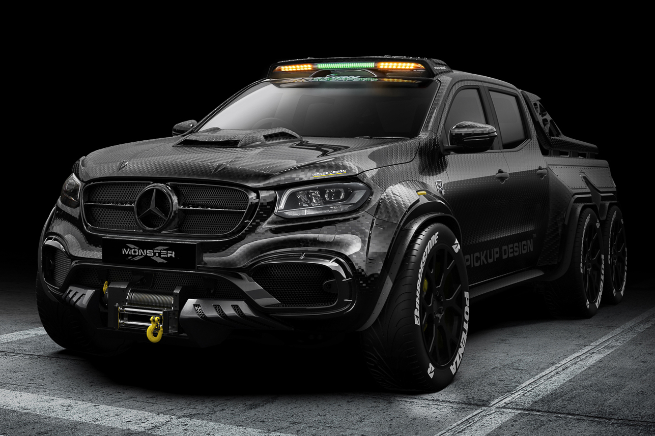 Mercedes-Benz X-Class EXY Monster X 6X6 Concept | HiConsumption
