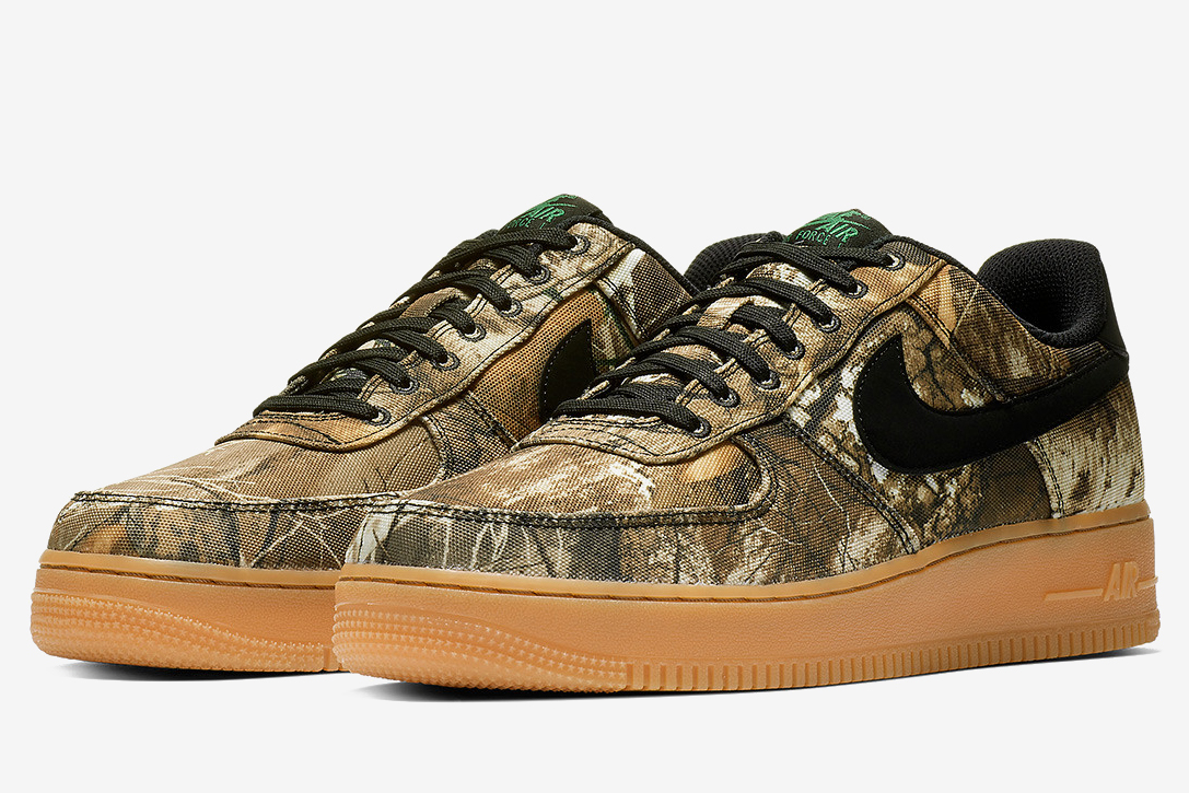 Wallet Multi Tool >> Nike Air Force 1 Realtree Camo Pack | HiConsumption