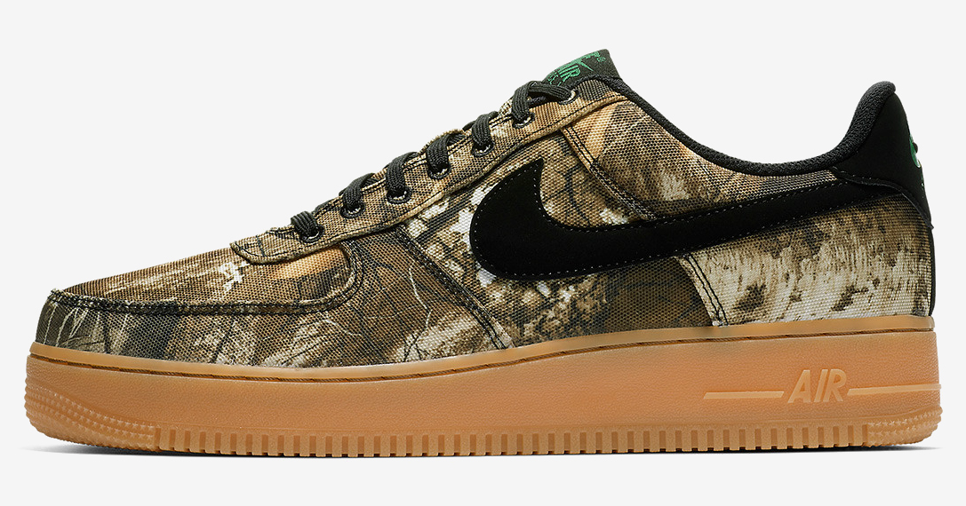 official photos ee0eb a2124 Nike Air Force 1 Realtree Camo Pack   HiConsumption