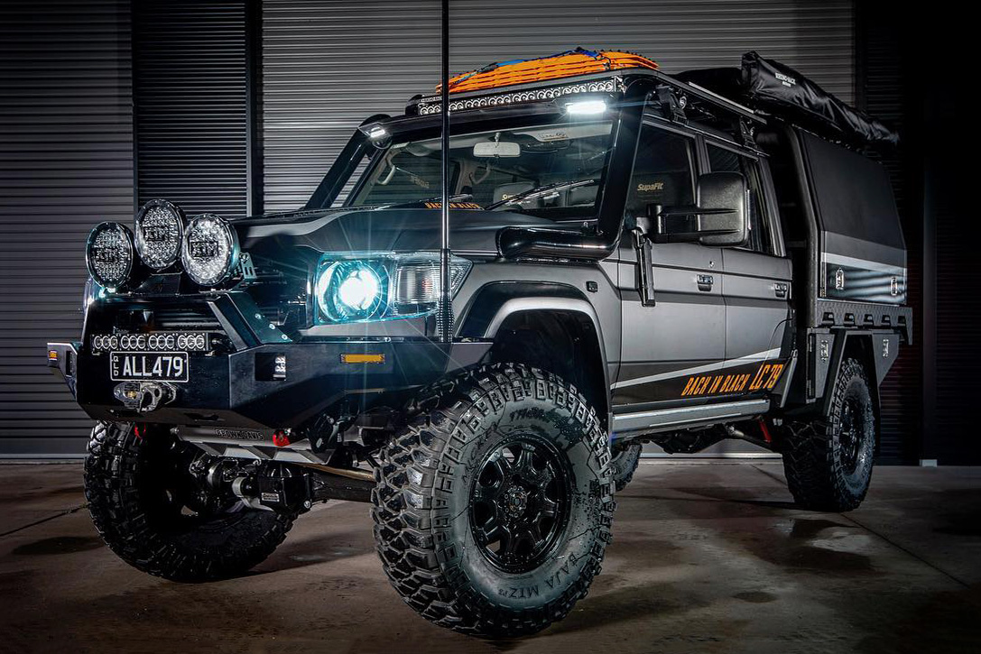 Toyota Land Cruiser 79 Series By All 4 Adventure