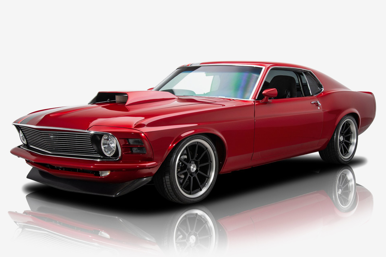 1970 Ford Mustang Mach 1 Hiconsumption