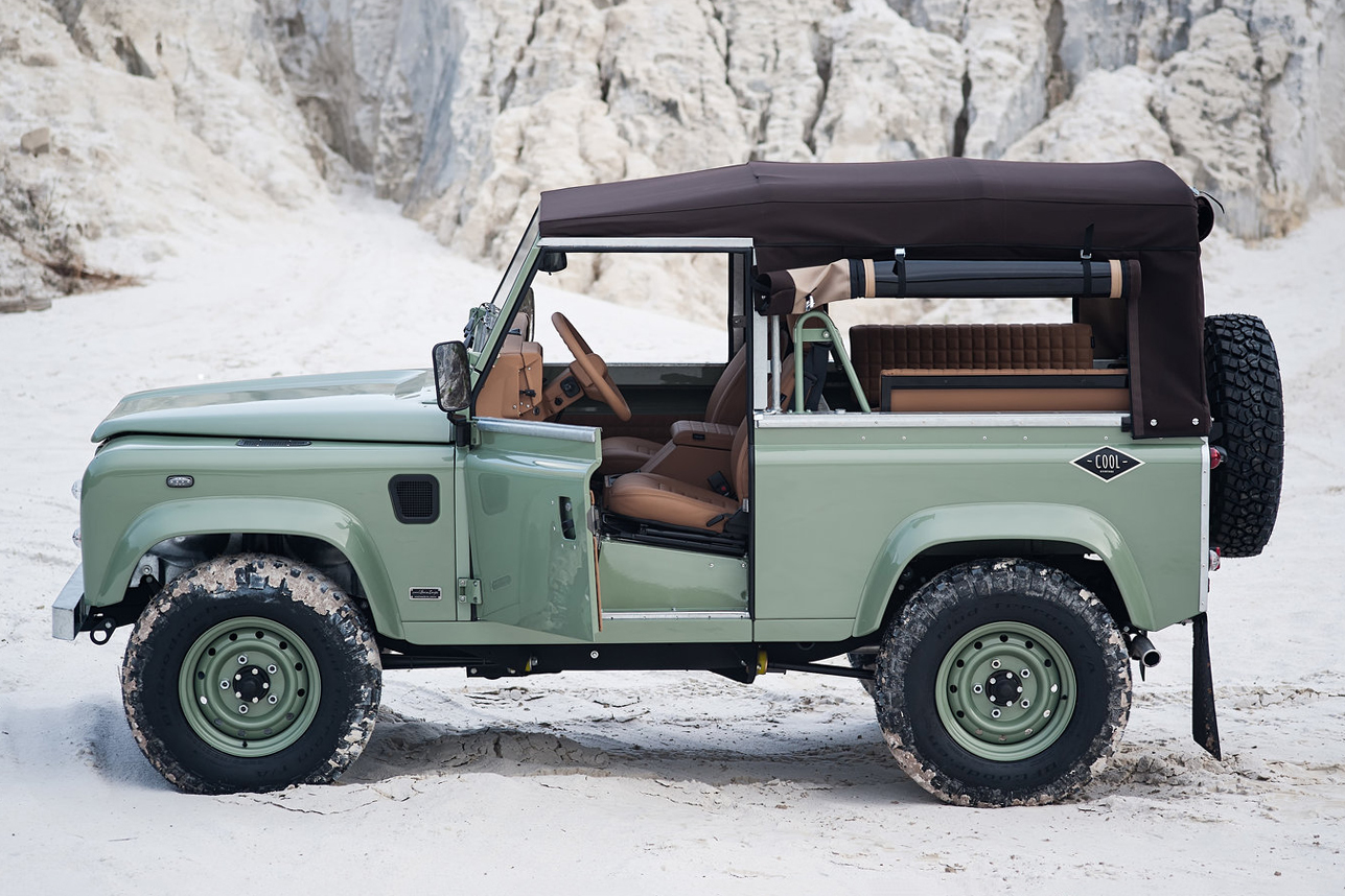 1988 Land Rover Defender 'Build N62' By Coolnvintage