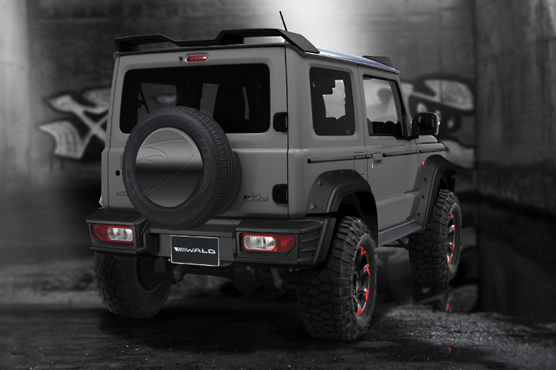 2019 suzuki jimny black bison edition by wald hiconsumption. Black Bedroom Furniture Sets. Home Design Ideas