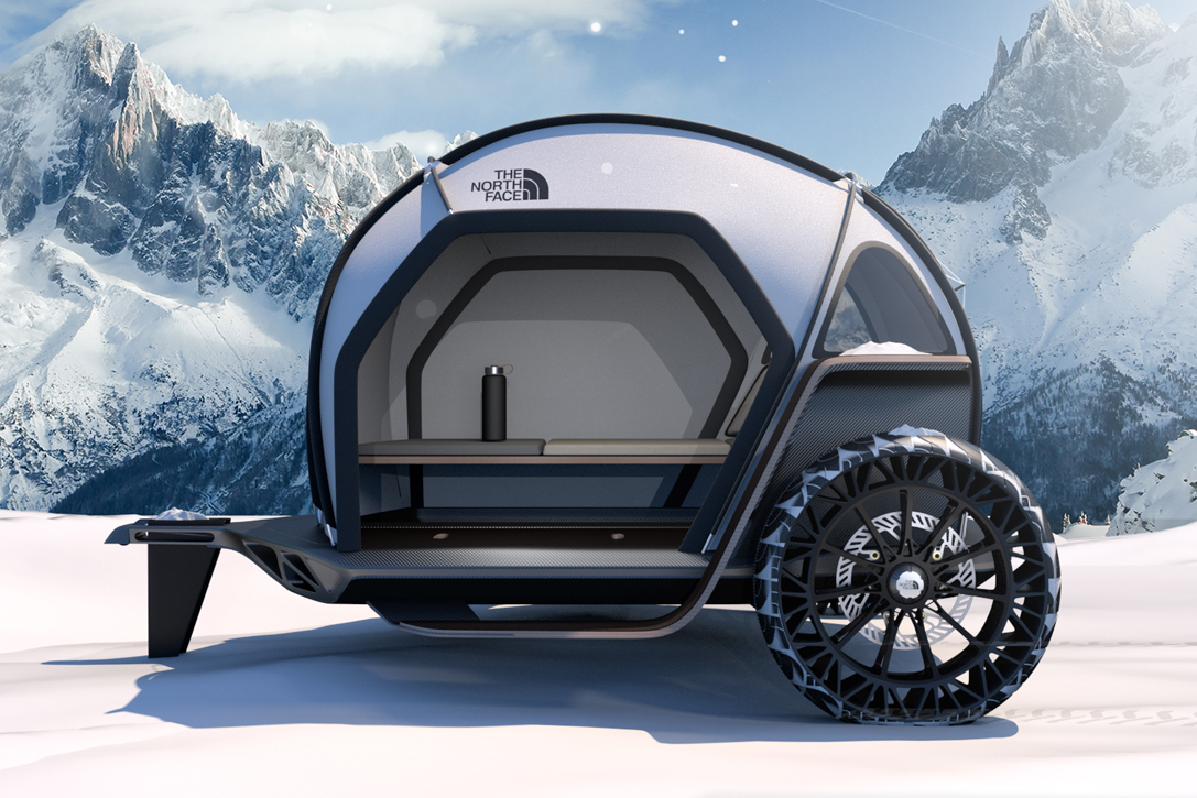 BMW Designworks X The North Face Futurelight Camper