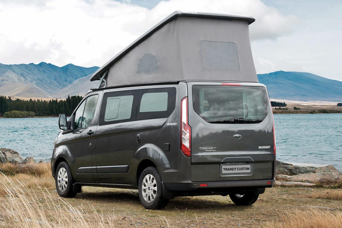 ford x westfalia transit custom nugget camper van. Black Bedroom Furniture Sets. Home Design Ideas