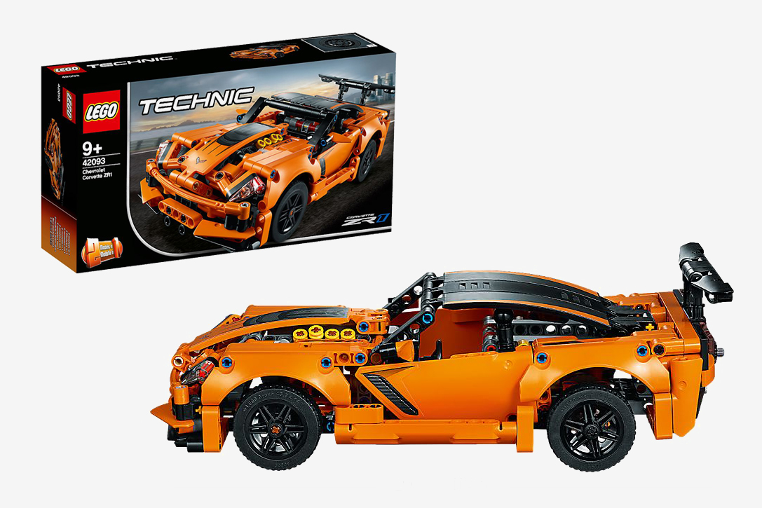 Lego Technic Chevrolet Corvette Zr1 Hiconsumption