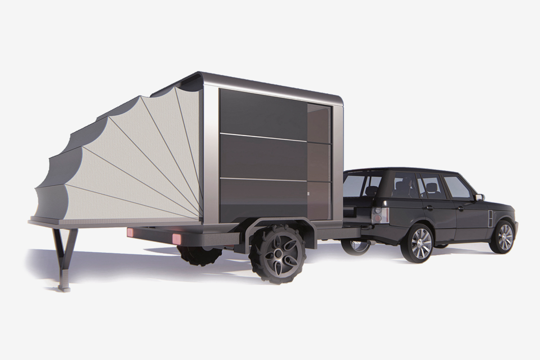 Mobile Photovoltaic Cube House Camper Hiconsumption