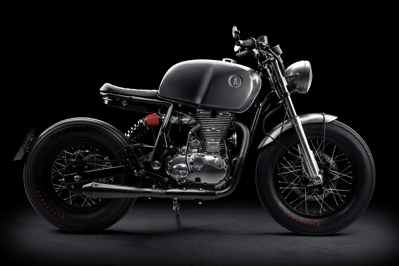 Royal Enfield Continental GT 'Grigio' By KR Customs
