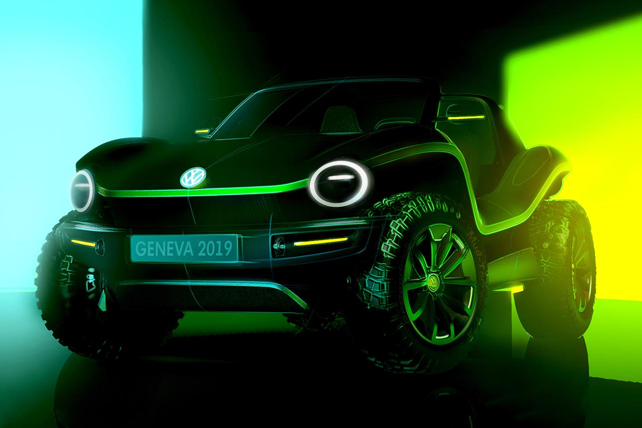 Volkswagen Electric Dune Buggy Concept | HiConsumption