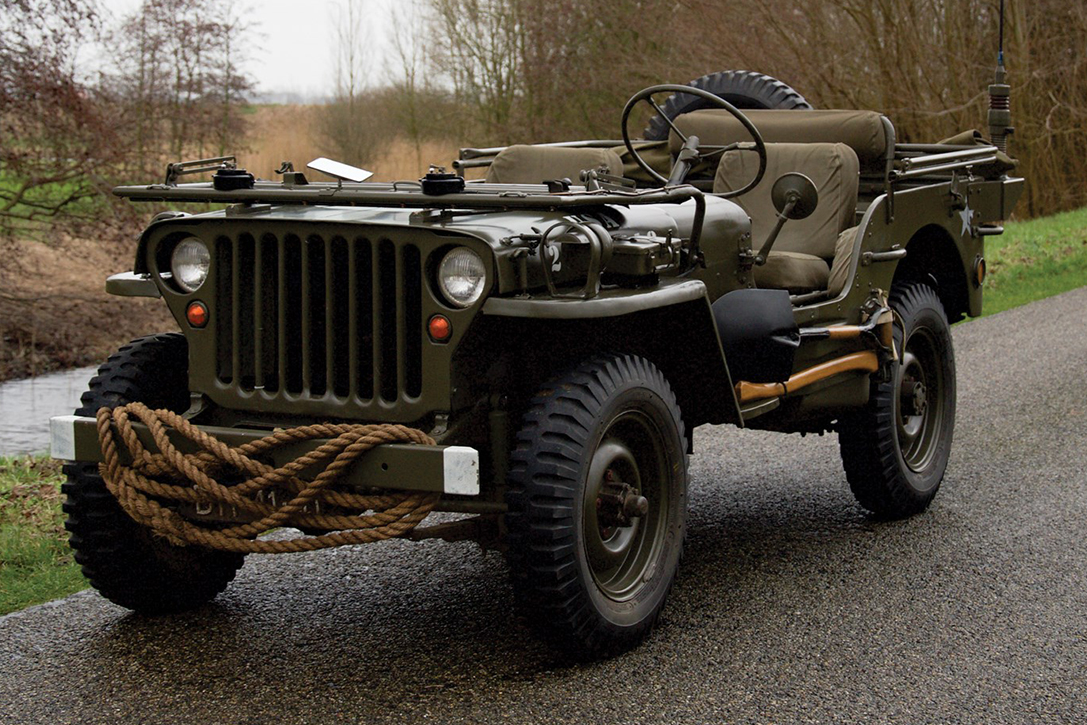 Auction Block: 1942 Ford GPW Military Vehicle   HiConsumption