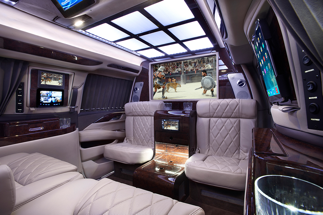 Bulletproof Cadillac Escalade By Add Armor Hiconsumption