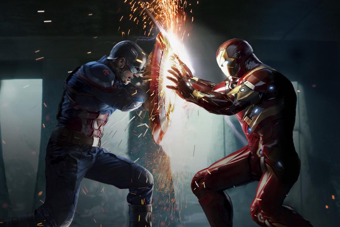 Captain America In Captain Marvel Scene